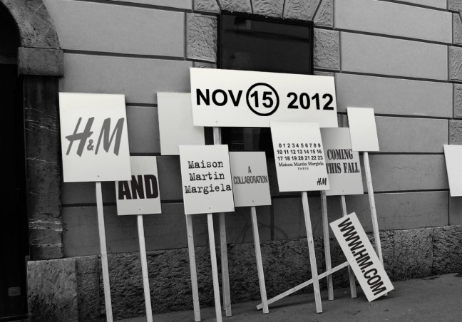 H&M Reveals Exclusive Autumn/Winter 2012 Collaboration with Maison Martin Margiela