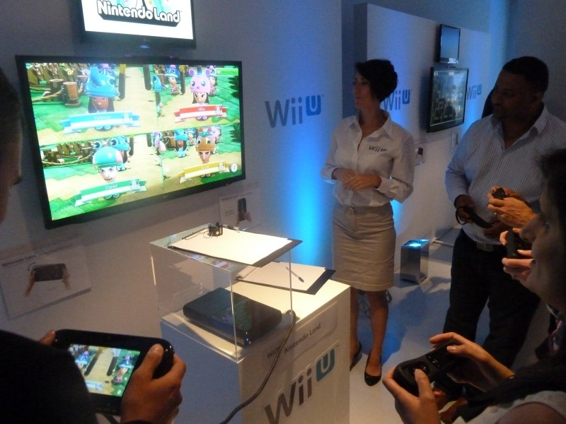 Nintendoland wii u games console launch review 5 players