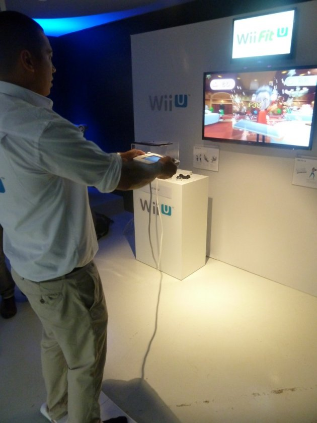 wii fit u games console launch review