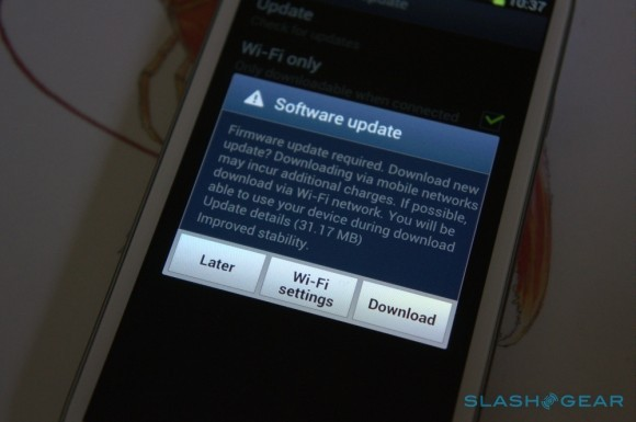 Samsung Galaxy S3 OTA Update Rolls Out in the UK