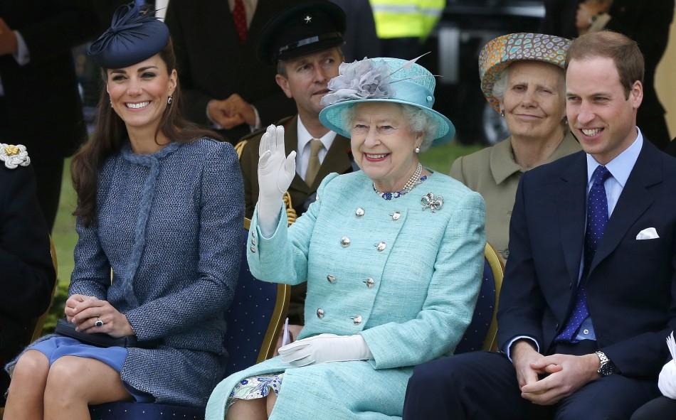 Kate Middleton, Queen Elizabeth, Prince William
