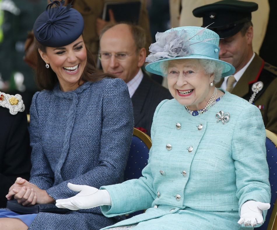 Kate Middleton, The Queen