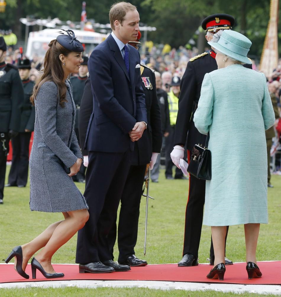 Kate Middleton, Prince William, Queen Elizabeth