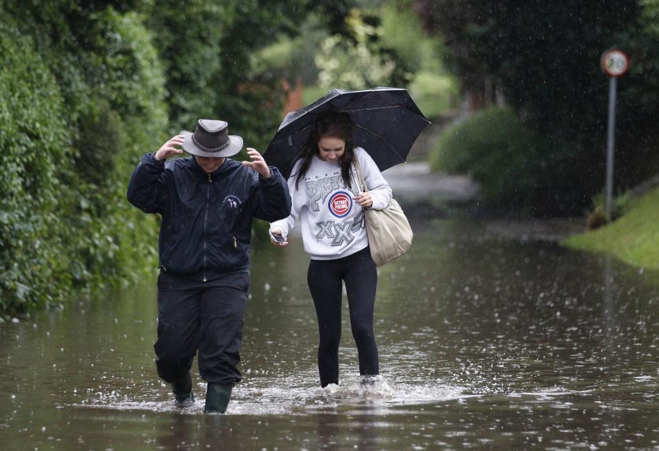 Heavy Rains Will Batter Britain Again, Says Met