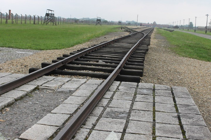 Train tracks to hell