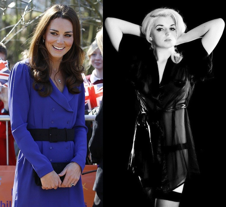 Kate Middleton and Katrina Darling