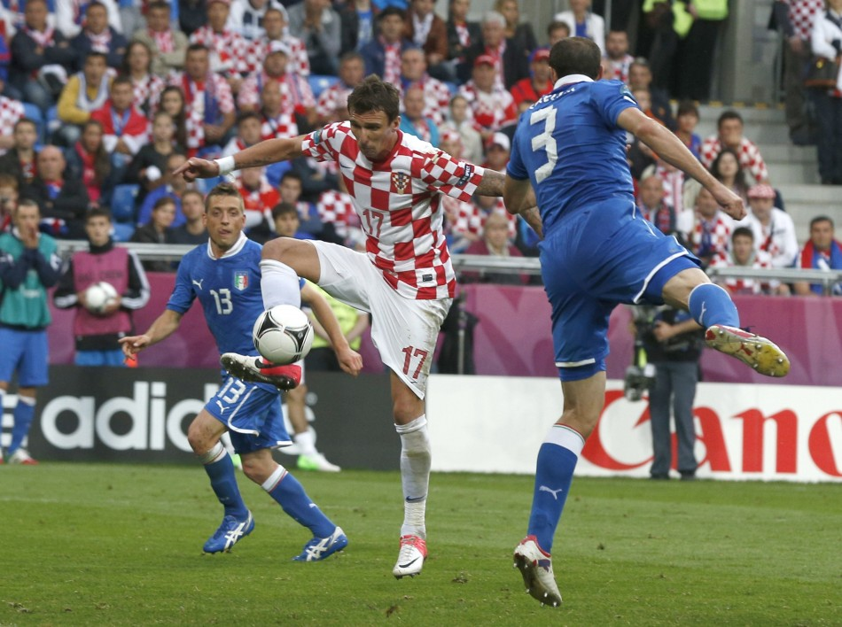 Euro 2012 Group C Game - Italy v Republic of Ireland