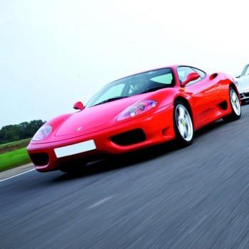 Ferrari Thrill at Silverstone