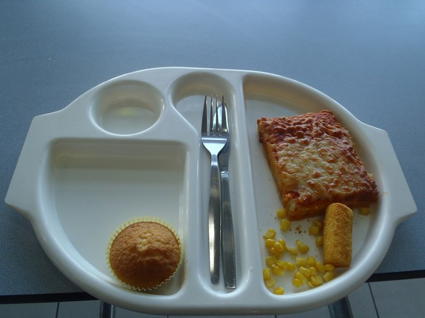 Martha Payne took photos of her school dinners for her Never Seconds blog