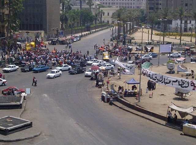 Tahrir Square in Cairo remained quiet despite calls for mass protests