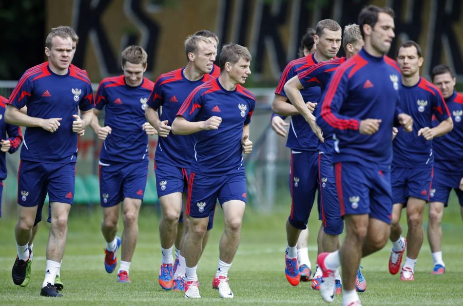 Euro 2012: Greece vs Russia