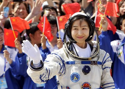 Liu Yang, Chinas first female astronaut