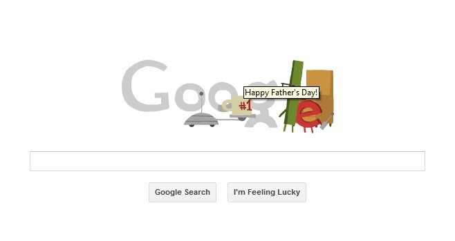 Google Doodle Is Celebrating Father Day's By Displaying A Unique Animated Logo