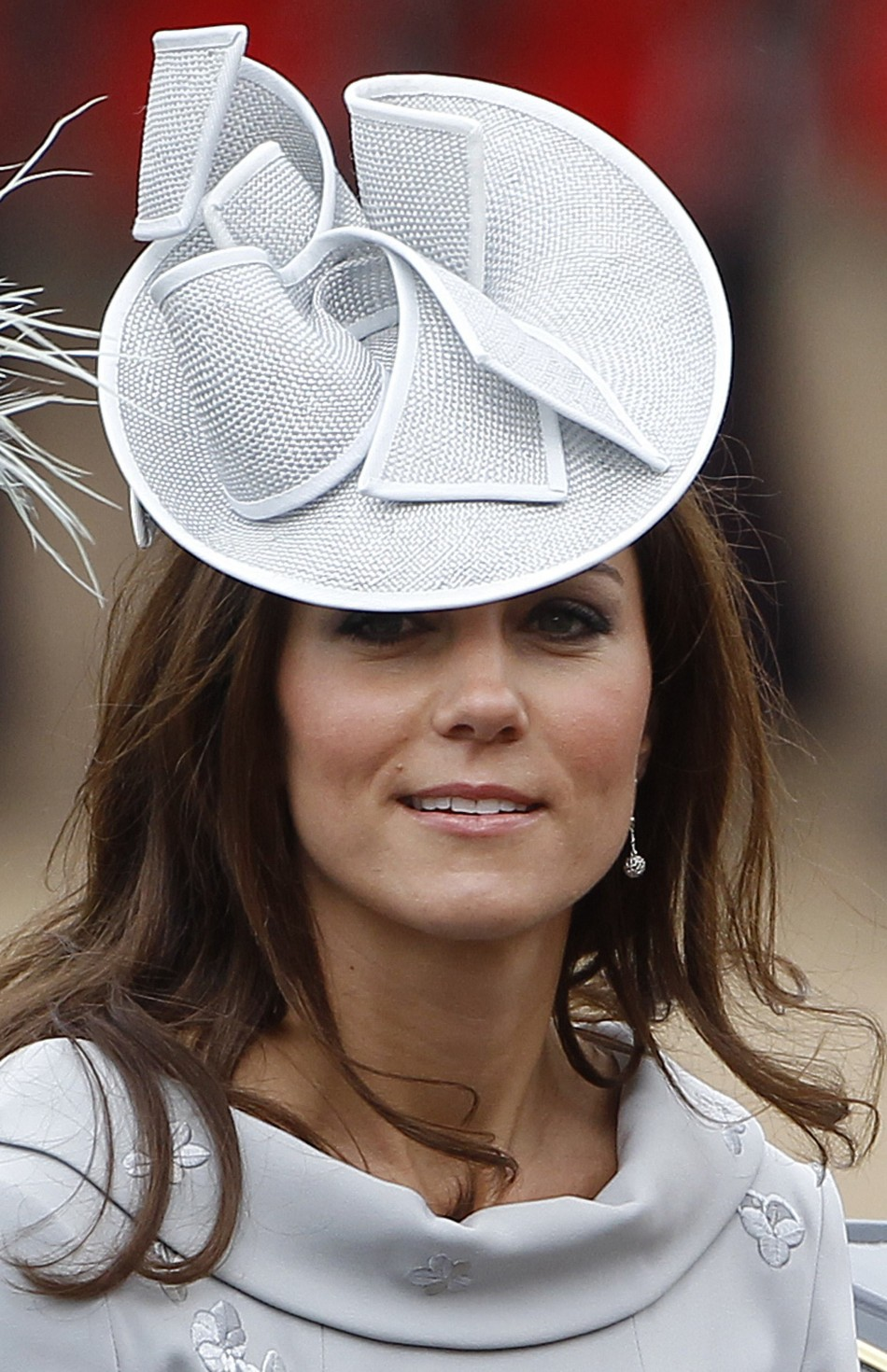 Britain039s Catherine, Duchess of Cambridge travels to Horse Guards Parade for the Trooping the Colour ceremony in central London