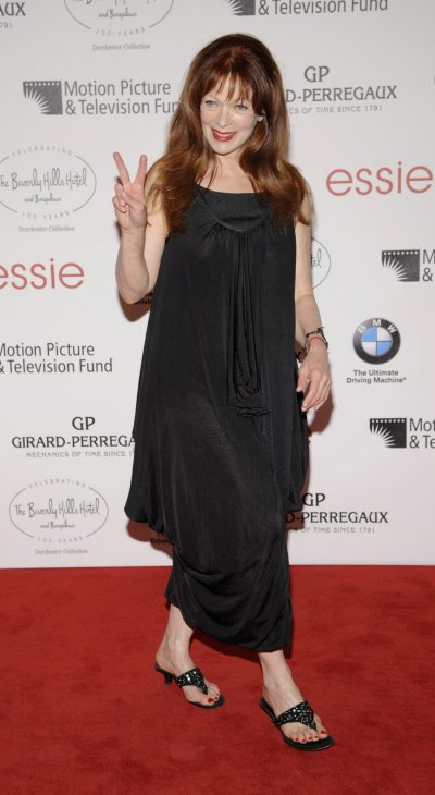 Actress Frances Fisher attends the 100th anniversary of The Beverly Hills Hotel in Beverly Hills, California
