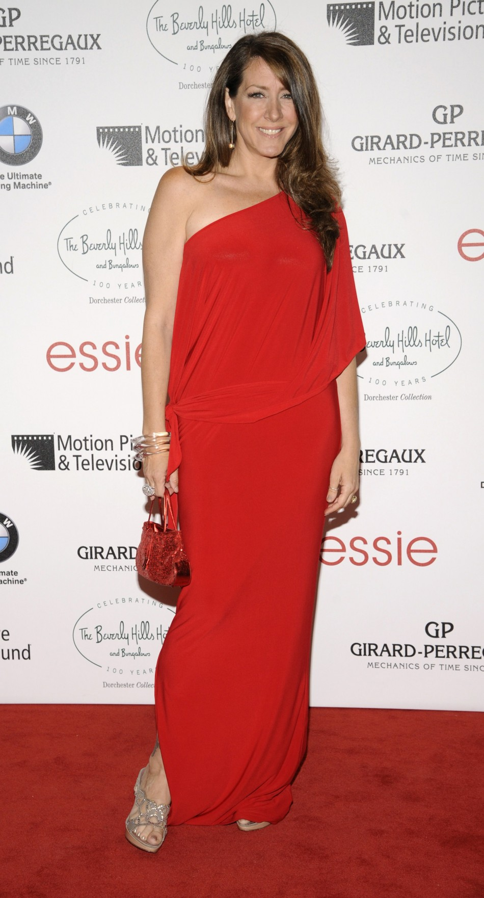 Joely Fisher attends the 100th anniversary of The Beverly Hills Hotel in Beverly Hills