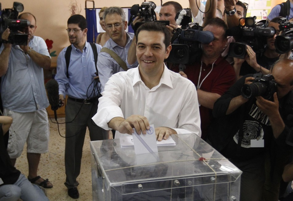 Greek elections Syriza