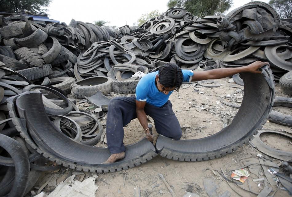 India's spluttering economy