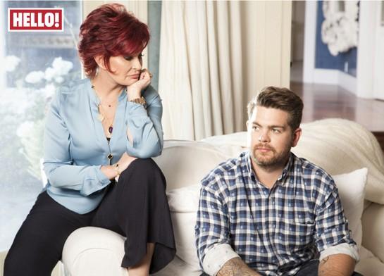 Sharon and Jack Osbourne