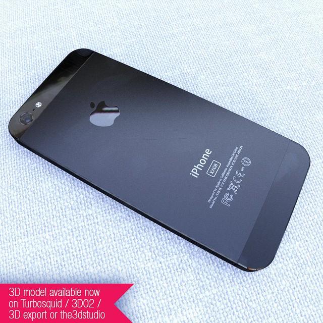 iPhone 5 - Rear panel