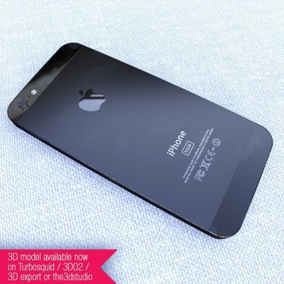 iPhone 5 - Rear panel