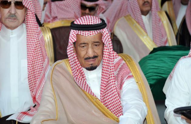 Saudi Arabia's Defence Minister Prince Salman