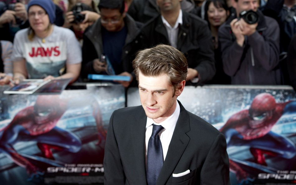 "Actor Garfield arrives for the British premiere of ""The Amazing Spider-Man"" at Leicester Square in London"