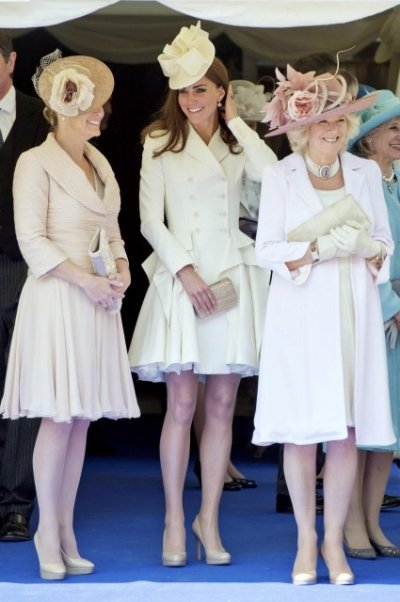 Kate Middleton Attends Order of the Garter