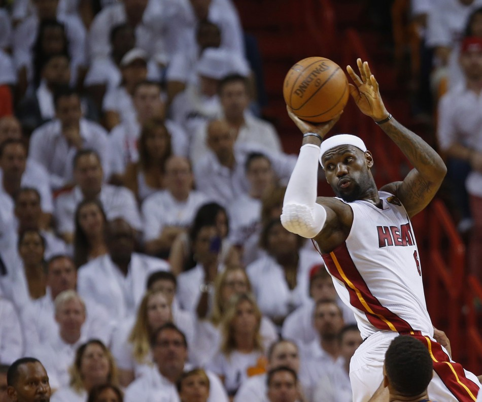 LeBron James and the Miami Heat won an NBA title before the Clevekland Cavs.