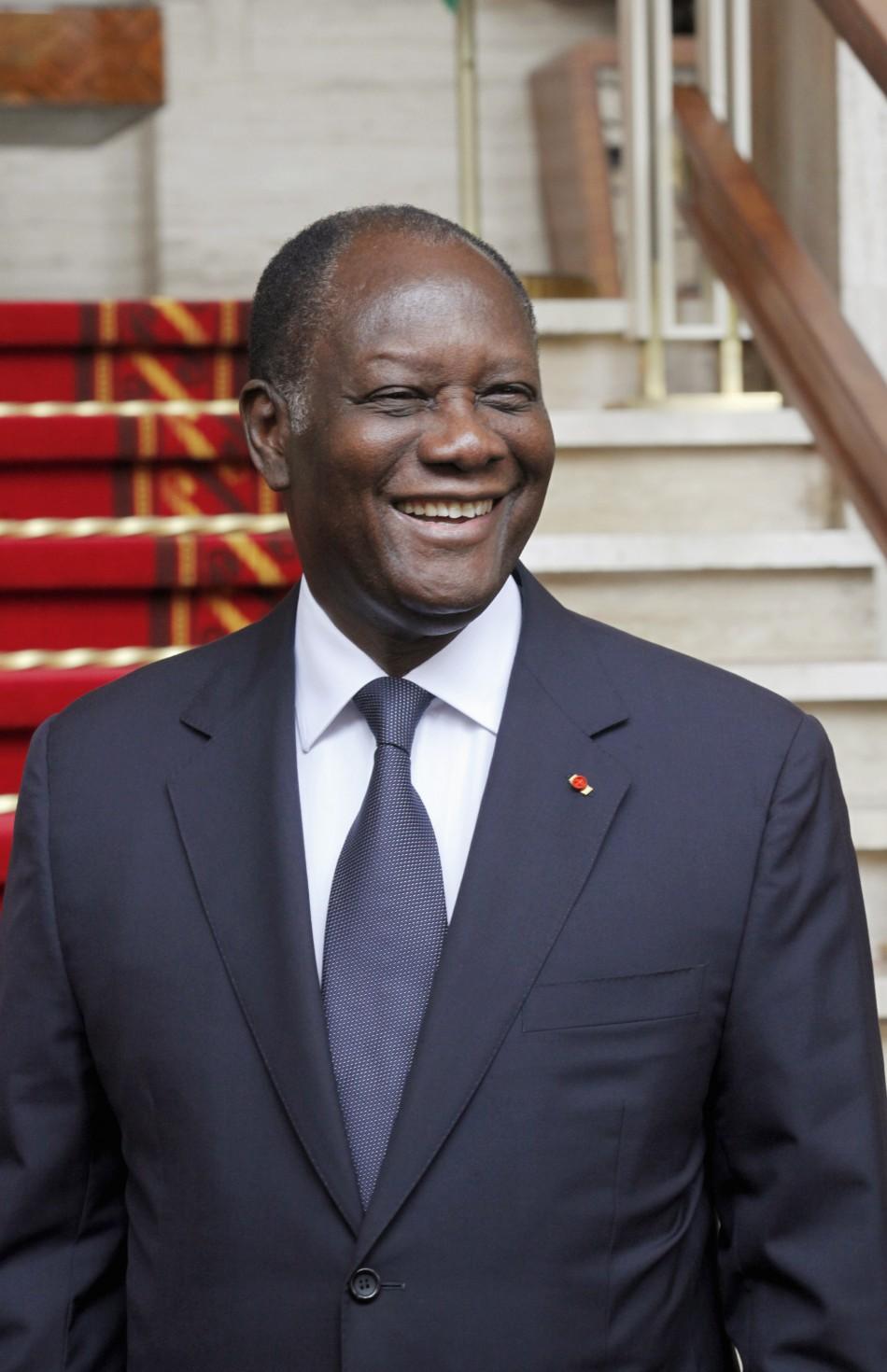 Ivory Coast's President Alassane Ouattara