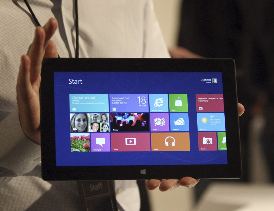 Microsoft Surface Tablet Pricing Revealed