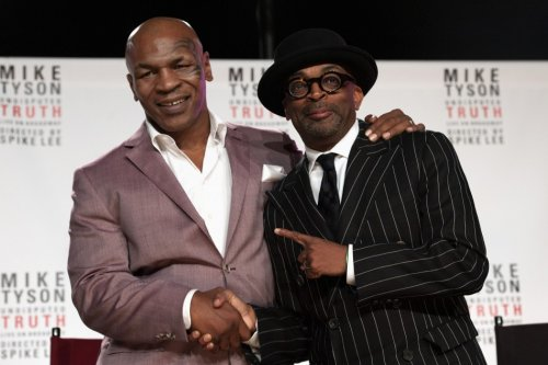 Mikle Tyson and Spike Lee