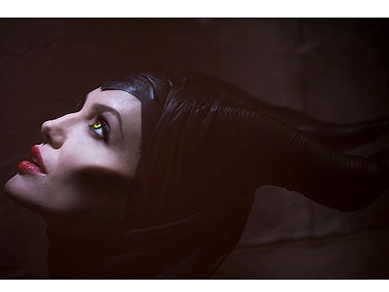 "Angelina Jolie as ""Maleficent"""