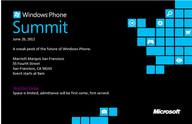 Windows Phone 8 Summit