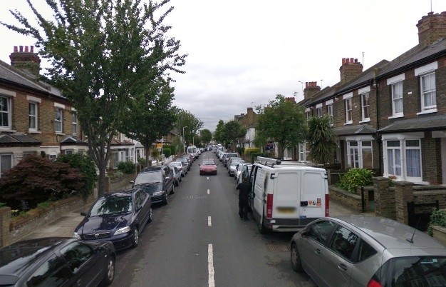The shooting happened at Felix Road, Ealing (Google Maps)
