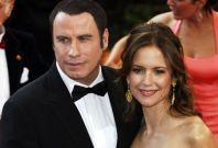 John Travolta and Kelly Preston.