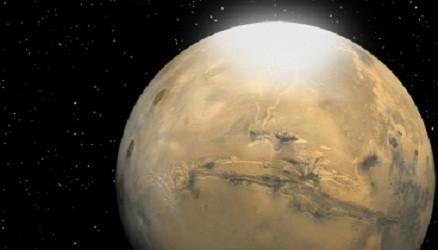 Mars Snowflakes