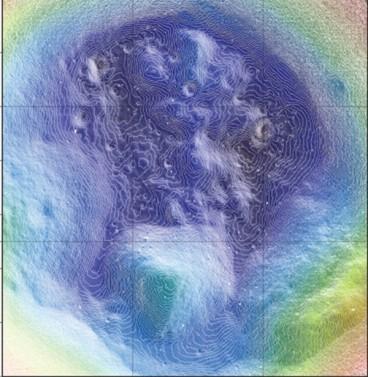 High-resolution map