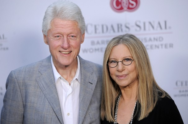 Former US president Bill Clinton and singer Barbra Streisand team up at charity event for women's heart health