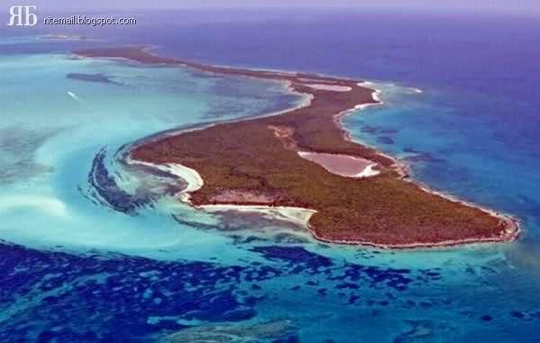 Leonardo DiCaprio's Blackadore Cay