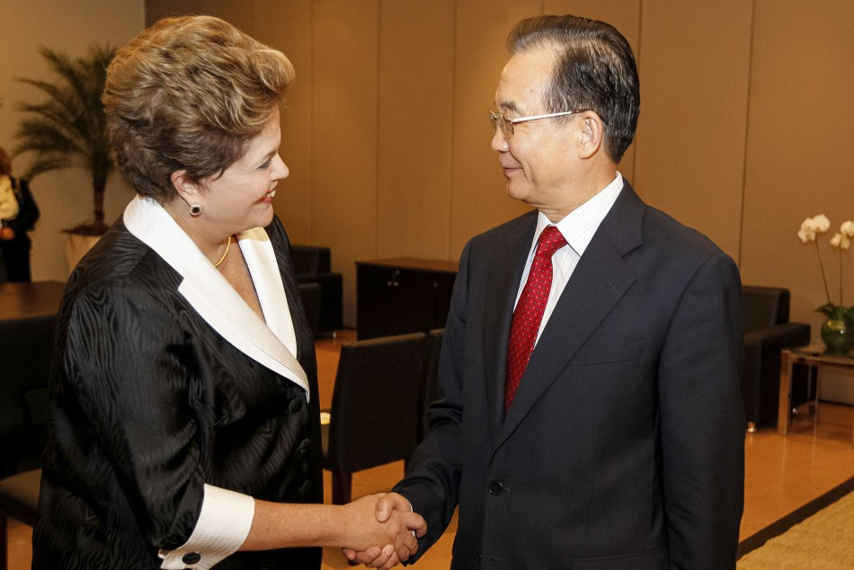 China and Brazil sign currency deal