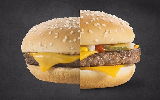 Global franchise discloses how products are made to look tastier with use of 'food-styling' and Photoshop