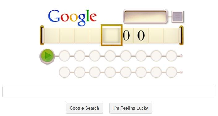 Alan Turning: Clever Google Doodle Honoring The Genius Codebreaker's 100th Birthday Makes You Think