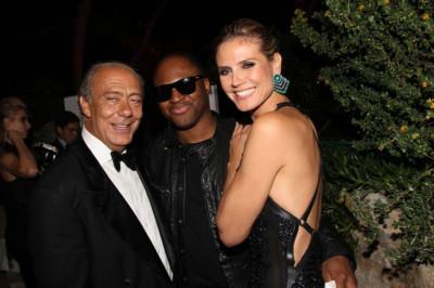 Celebrities at the 2012 De Grisogono Extravaganza Party
