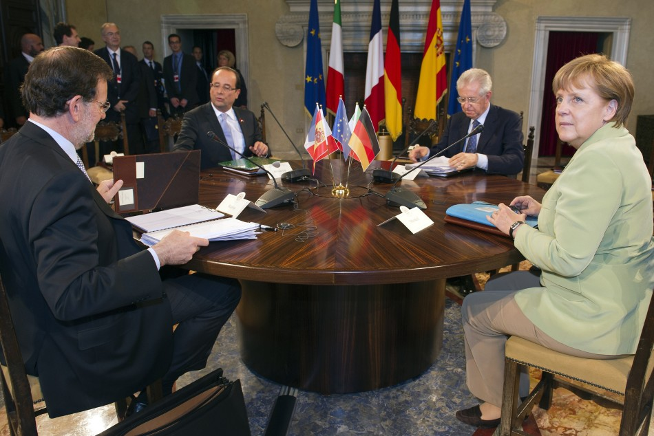 Leaders of Germany, France, Italy and Spain met in Rome on Friday