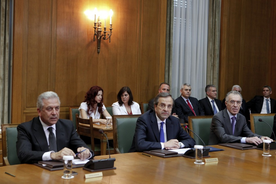 New Greek Government.