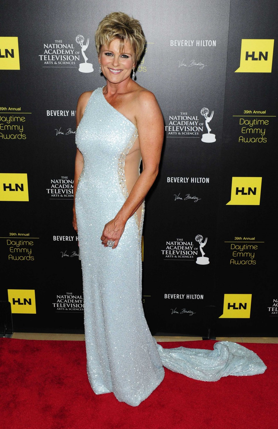 Actress Judi Evans arrives at the 39th Daytime Emmy Awards in Beverly Hills