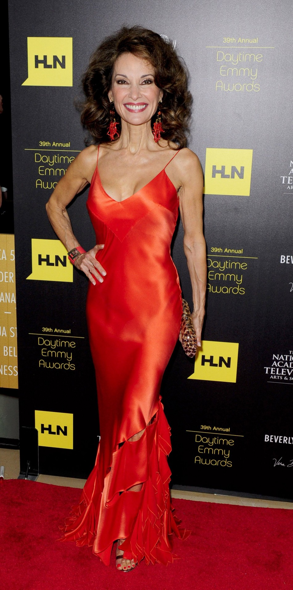 Susan Lucci arrives at the 39th Daytime Emmy Awards in Beverly Hills