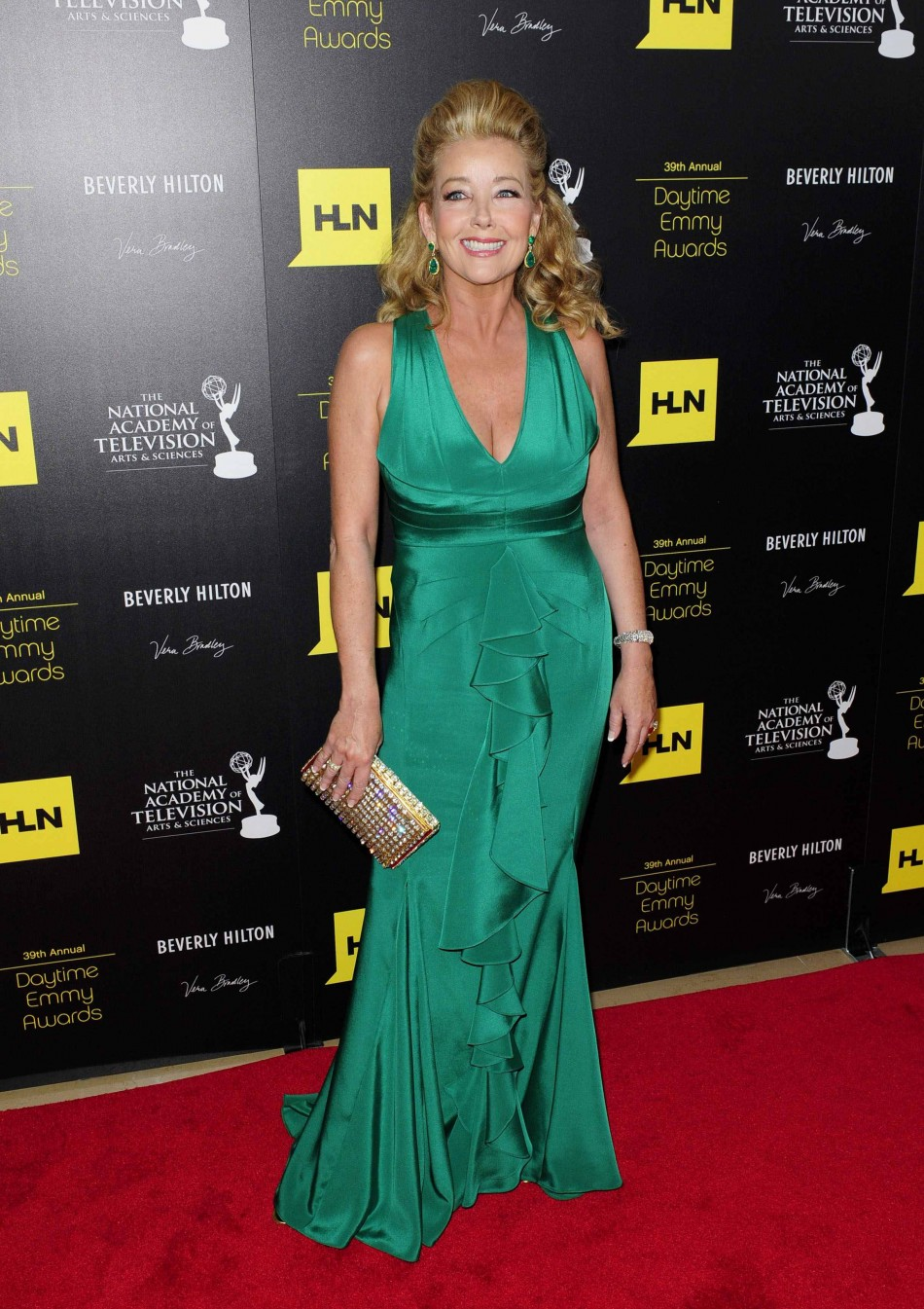 Melody Thomas Scott arrives at the 39th Daytime Emmy Awards in Beverly Hills