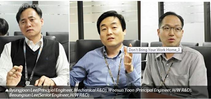 Samsung Design Engineers